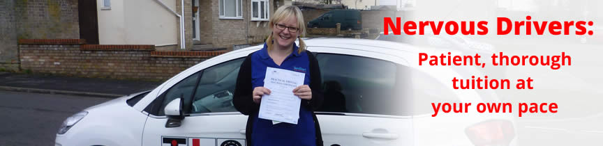Pupil who passed with TLC Driving School