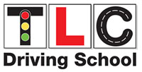 TLC Driving School logo, (TLC = Tracey's Learner Centre)
